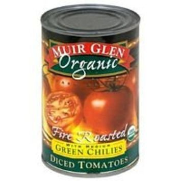 Muir Glen Tomato Dicd Rstd Grn Chl