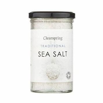 (12 PACK) - Clearspring Traditional Sea Salt| 250 g |12 PACK - SUPER SAVER - SAVE MONEY