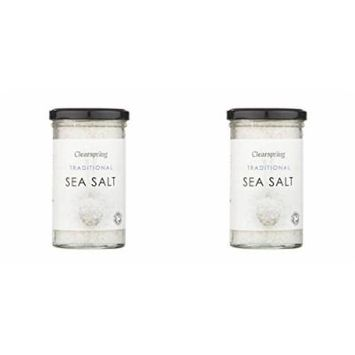 (2 PACK) - Clearspring Traditional Sea Salt| 250 g |2 PACK - SUPER SAVER - SAVE MONEY