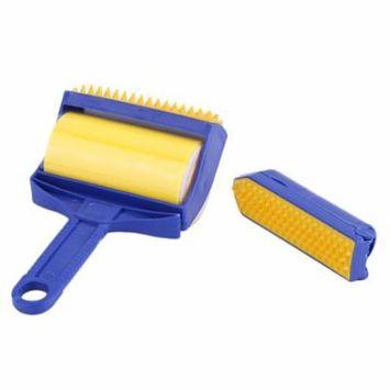 2Pcs/set Reusable Handheld Picker Lint Sticking Roller Pet Hair Remover Brush Lint Roller Pet Hair Cleaning Brush