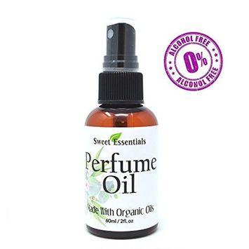 Arabian Sandalwood | Fragrance/Perfume Oil | 2oz Made with Organic Oils - Spray on Perfume Oil - Alcohol & Preservative Free