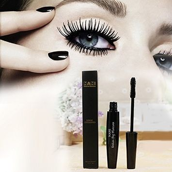 Neverland Beauty Thickening Black Mascara with Natural Fibres