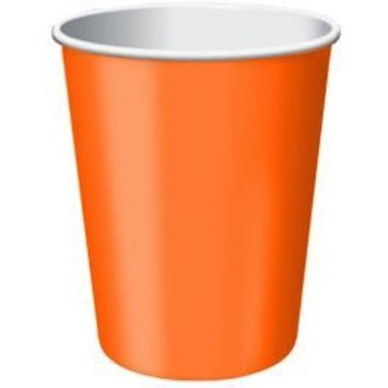 Orange Peel Paper Cups| 9 oz.| Pack of 20| Party Supply