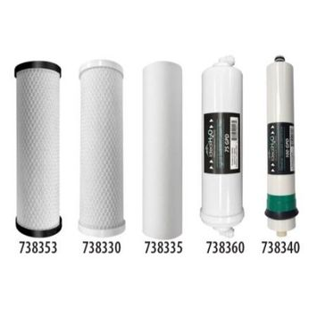 Ideal H2O 738350 Coconut Carbon Filter 20 in (12/Cs)