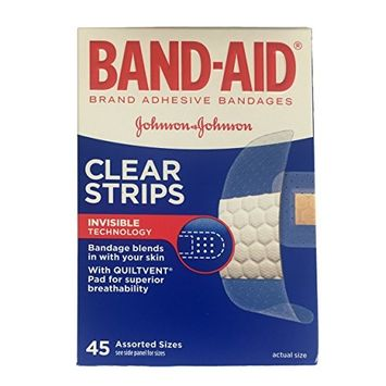 5 Pack - BAND-AID Comfort-Flex Adhesive Bandages Assorted 45 Each