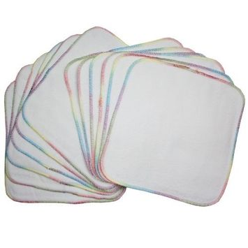 Terry Flannel Wipes (12 Pack)