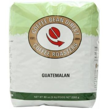 Coffee Bean Direct Guatemalan, Whole Bean Coffee, 5-Pound Bag