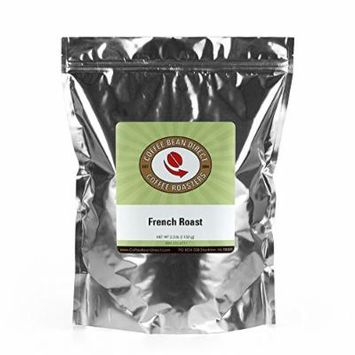 Coffee Bean Direct French Roast, 2.5 Pound
