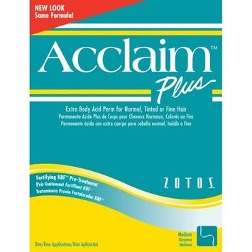 Acclaim Acid Extra Body Plus Hair Perm Kit - Extra Body Green Kit by Zotos