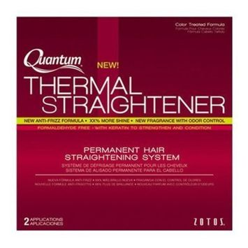 ZOTOS Quantum Thermal Straightener Color-Treated Formula System HP-42426