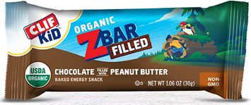 Clif Kid® Organic ZBar Filled Chocolate Filled with Peanut Butter