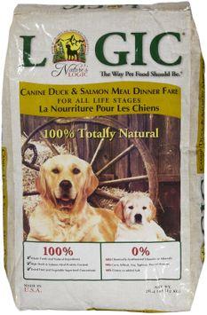 Nature's Logic Dry Dog Food - Duck & Salmon