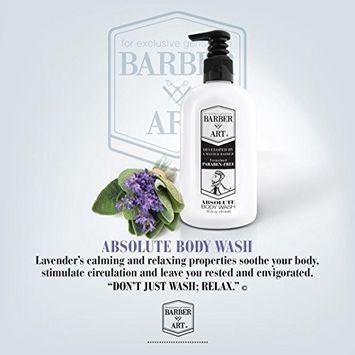 Daily Body Wash Cleanser for Men 12oz Lavender Aloe Vera Argan Oil Shower Gel