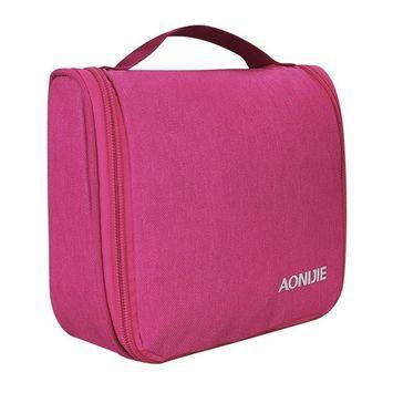 Toiletry Bag Travel, WATERFLY Mini Toiletries Bag Makeup Cosmetic Bag Sturdy Hanging Organizer for Women Men