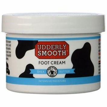 Udderly Smooth Shea Butter Foot Cream 8oz Each