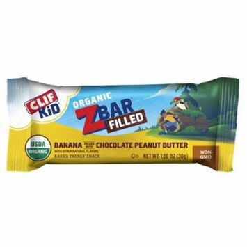 CLIF Kid® Organic Zbar™ Filled Banana Filled with Chocolate Peanut Butter