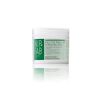 Nip+Fab Kale Fix Make Up Removing Pads 80ml (PACK OF 6)