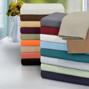 Vanessa Microfiber Solid Pillowcase Set - Size: King, Color: Sage