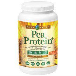 Pure Vegan - Pea Protein Vanilla - 2.2 lbs.