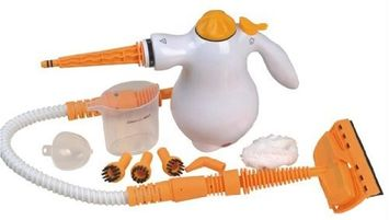 Medex Portable Multi-Purpose White Steam Cleaner - Kills Bacteria and Sanitize Indoor/Outdoor Surfaces