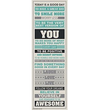Poster, Hatop Be Awesome Inspirational Motivational Happiness Quotes Decorative Poster Print