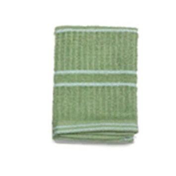 J & M Home Fashions Llc J & M Home Fashions 7428 4PK 13x13 GRN Dis Cloth - Quantity 1