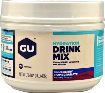 Gu Sports GU Hydration Drink Mix Canister Blueberry Pomegranate, One Size