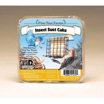 Pine Tree Farms Insect Suet Cake 12 Oz