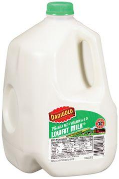 Darigold® Lowfat 1% Milk Fat Vitamin A & D  Milk 1 Gal Plastic Jug