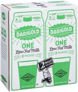 Darigold® Low Fat Milk 2-0.5 gal. Cartons