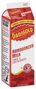Darigold Homogenized Vitamin D Milk 1 Qt Carton