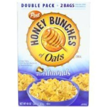 Post Honey Bunches of Oats with Almonds Cereal, 48-Ounce Box have a problem Contact 24 hour service Thank You