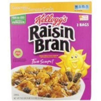 Kellogg's Raisin Bran Cereal, 76.5-Ounce Box have a problem Contact 24 hour service Thank You