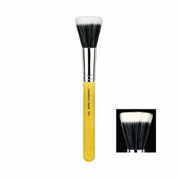 Bdellium Tools Studio Line Duet Fiber Finishing Brush, Yellow