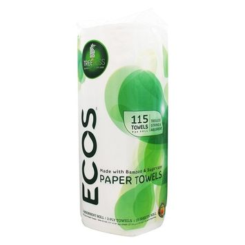 Earth Friendly - ECOS Paper Towels 2-Ply 115 Sheets