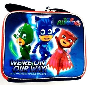 Disney Junior PJ Masks Insulated Lunch Bag-We're On Our Way