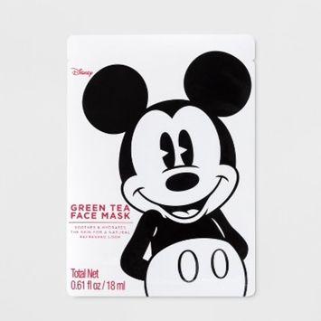 Mickey Mouse Face Mask Green Tea - 0.61oz