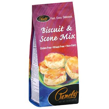 Pamela's Biscuit & Scone Mix, 13 oz, (Pack of 6)