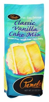 Pamela's Products - Cake Mix Gluten Free Vanilla - 21 oz(pack of 6)