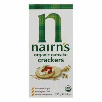 Nairns Cracker oatcake bio, 8.92 OZ (Pack of 12)