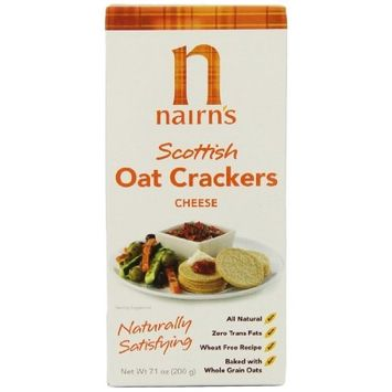 Nairn's Oat Crackers, Cheese, 7.1-Ounce