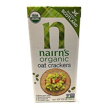 Nairn's Organic Whole Grain Oat Crackers, 8.8 Ounce [Pack of 1]