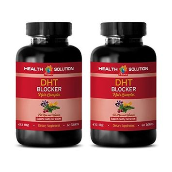 hair growth supplement for women - DHT BLOCKER HAIR COMPLEX - FOR MEN AND WOMEN - SUPPORT HEALTHY HAIR GROWTH - he shou wu...