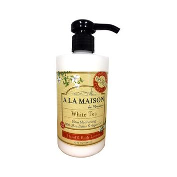 A La Maison 1141613 Lotion White Tea 10 Oz