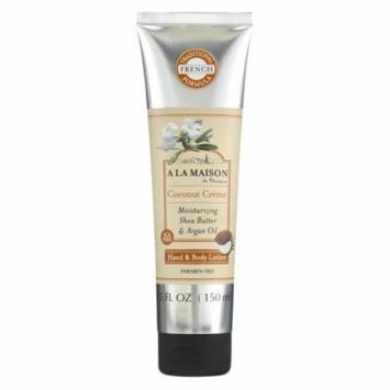 A La Maison Hand and Body Lotion - Coconut Creme - 5 fl oz