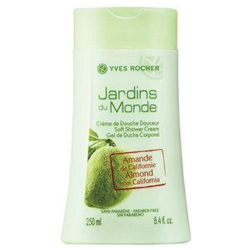 Yves Rocher Soft Shower Cream Almond from California 8.4 oz