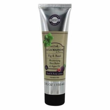 Hand & Body Lotion Fig & Basil - 5 fl. oz. by A La Maison (pack of 4)