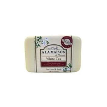 A La Maison Ultra Moisturizing Hand & Body Bar Soap White Tea, 8.8 OZ