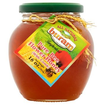 Ziyad Brothers Importing Co. Buram, Honey Flower; Comb, 16 Oz (Pack Of 12)