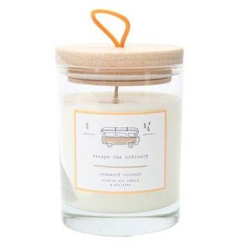 Lidded Jar Candle Escape the Ordinary 8.6oz - Happy Place